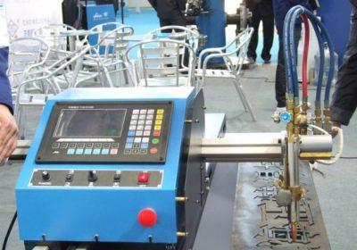 Gantry Type Dobbeltdrevet CNC Flame Plasma Cutting Machine i salg