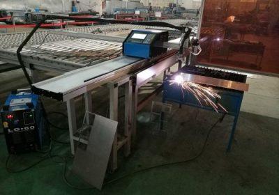Bærbar CNC 100A Plasma Cutting Machine til 1-15mm Iron Sheet